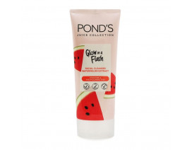 Ponds Juice Collection Glow In A Flash Facial Cleanser with Watermelon Extract (Indo) - Case