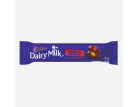 Cadbury Dairy Milk Fruit & Nut Chocolate Bar - Case