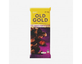Cadbury Old Gold Old Jamaica Rum 'N' Raisin Dark Chocolate Block - Case