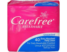 CAREFREE BREATHABLE  UNSCENTED PANTILINER - Case