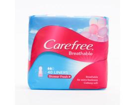 CAREFREE BREATHABLE  SHOWER FRESH PANTILINER - Case