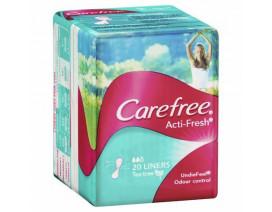 CAREFREE ACTI FRESH TEATREE PANTILINER - Case