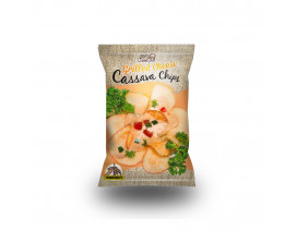 Little Keefy Cassava Chips Grilled Cheese Flavour - Case