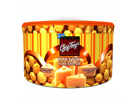 Chef Tony's Gourmet Popcorn Country Cheddar Small Tub - Case