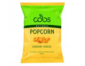 Cobs Natural Popcorn Cheddar Cheese - Case