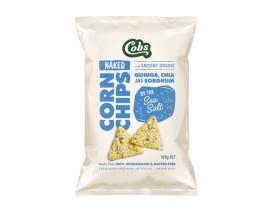 Cobs Naked Corn Chips Sea Salt - Case