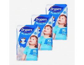 Drypers Wee Wee Dry Diapers XL - Case