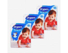 Drypers Wee Wee Dry Diapers L - Case
