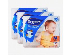 Drypers Wee Wee Dry Diapers M Value Pack - Case