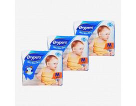 Drypers Wee Wee Dry Diapers M - Case