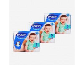 Drypers Wee Wee Dry Diapers S - Case
