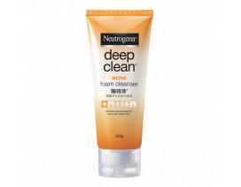 Neutrogena Deep Clean Acne Foaming Cleanser 100G - Case