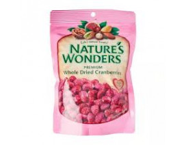 Nature's Wonder Dried Cranberries - Case