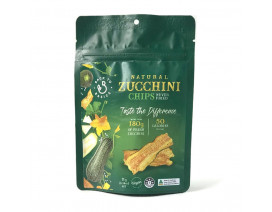 Back To Basics Natural Zucchini Chips - Case