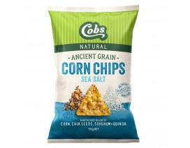 Cobs Ancient Grain Corn Chips Sea Salt - Case