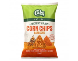 Cobs Ancient Grain Corn Chips Barbecue - Case