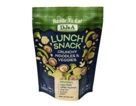 DJ&A Ready To Eat Lunch Snack Original - Case