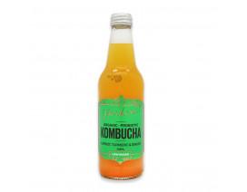 Parker's Organic Kombucha Carrot Tumeric & Ginger - Case