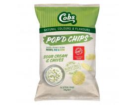 Cobs Pop'd Sour Cream Chives - Case