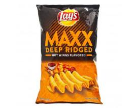 Lay's Maxx Hot Wings Potato Chips - Case