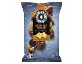 Red Rock Deli Honey Soy Chicken Potato Chips - Case
