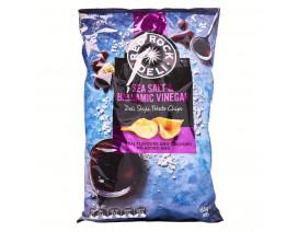 Red Rock Deli Sea Salt and Balsamic Vinegar Potato Chips - Case