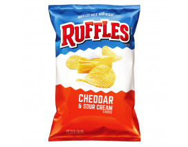 Ruffles Cheddar and Sour Cream Potato Chips - Case