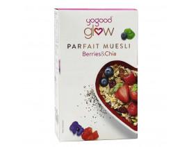 Yogood Glow Berries & Chia Parfait Muesli (Buy 5 cases n get 1 free) - Case