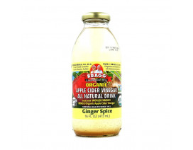 Bragg Apple Cider Vinegar Ginger Spice - Case