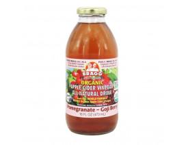 Bragg Cider Drink Pomegranate Goji Berry - Case