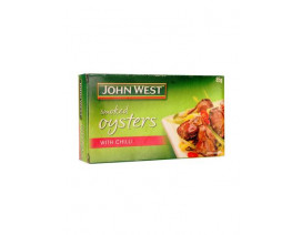 John West Smoked Oysters with Chilli - Case