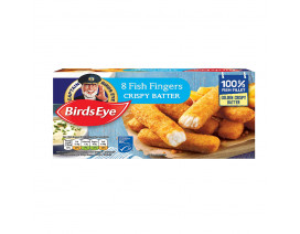 Birds Eye 8's 100% Fillet Fish Fingers in Crispy Batter - Case