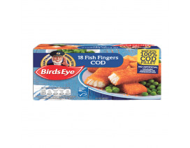 Birds Eye 18's Cod Fillet Fish Fingers - Case
