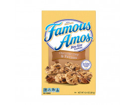 Famous Amos Chocolate Chip & Pecans Cookies - Case