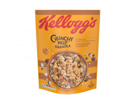 Kellogg's Crunchy Nut Oat Granola Caramel Hazelnut Cereal - Case