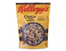 Kellogg's Crunchy Nut Oat Granola Choco Hazelnut Cereal - Case