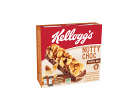 Kellogg's Nutty Choc Cereal Bar - Case