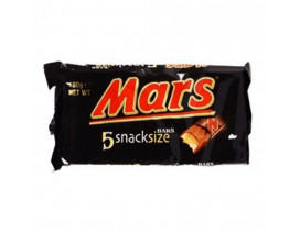 Mars SnackSize Chocolate Bar 5s - Case