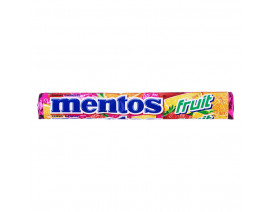 Mentos Fruit Chewy Candy Roll - Case