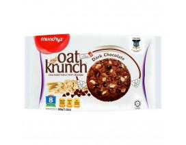 Munchy's OatKrunch Dark Chocolate 8's - Case