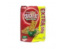 Munchy's Crackers Cream Crackers 12's XTRA 50g (Buy 3 cases  n get 1 free) - Case