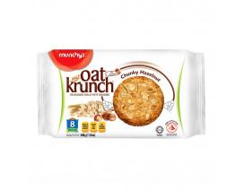 Munchy's OatKrunch Chunky Hazelnut 8's - Case