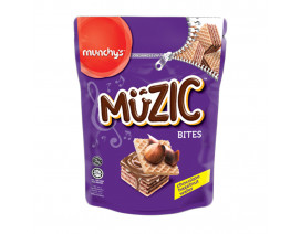 Munchy's Muzic Hazelnut Wafer Bites - Case