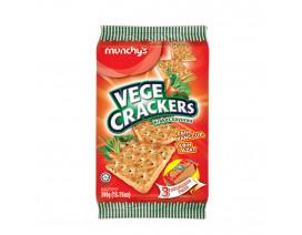 Munchy's Crackers Vegetable Crackers 3's - Case