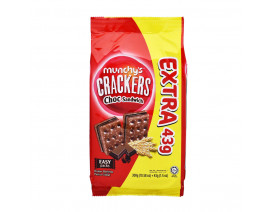 Munchy's Crackers Chocolate Sandwich 7's XTRA 43g  (Buy 3 cases  n get 1 free) - Case