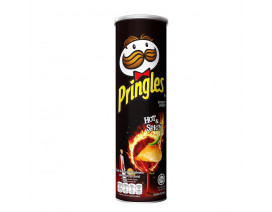 Pringles Potato Crisps Hot & Spicy - Case