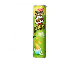 Pringles Potato Crisps Sour Cream & Onion - Case