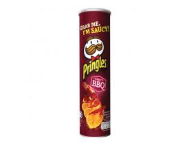 Pringles Potato Crisps Saucy BBQ - Case
