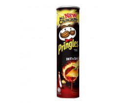 Pringles Potato Crisps Hot & Spicy - Case