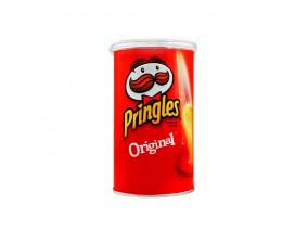 Pringles Potato Crisps Original with cap - Case